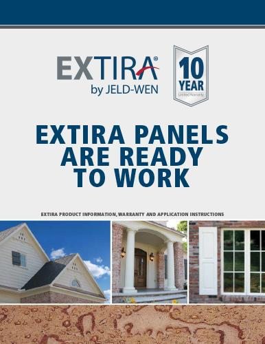 Extira Panels Product Guide